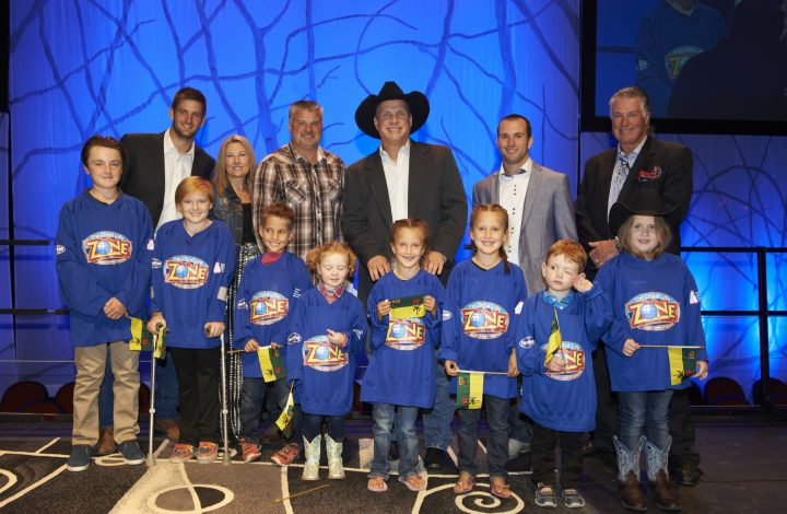 Garth Brooks, Teammates for Kids, Child Life Zone, Children's Hospital of Saskatchewan