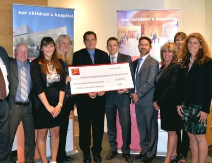 Les & Irene Dube ⋆ Jim Pattison Children's Hospital Foundation
