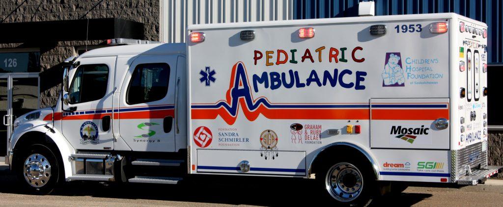 Saskatchewan's New Pediatric Ambulance