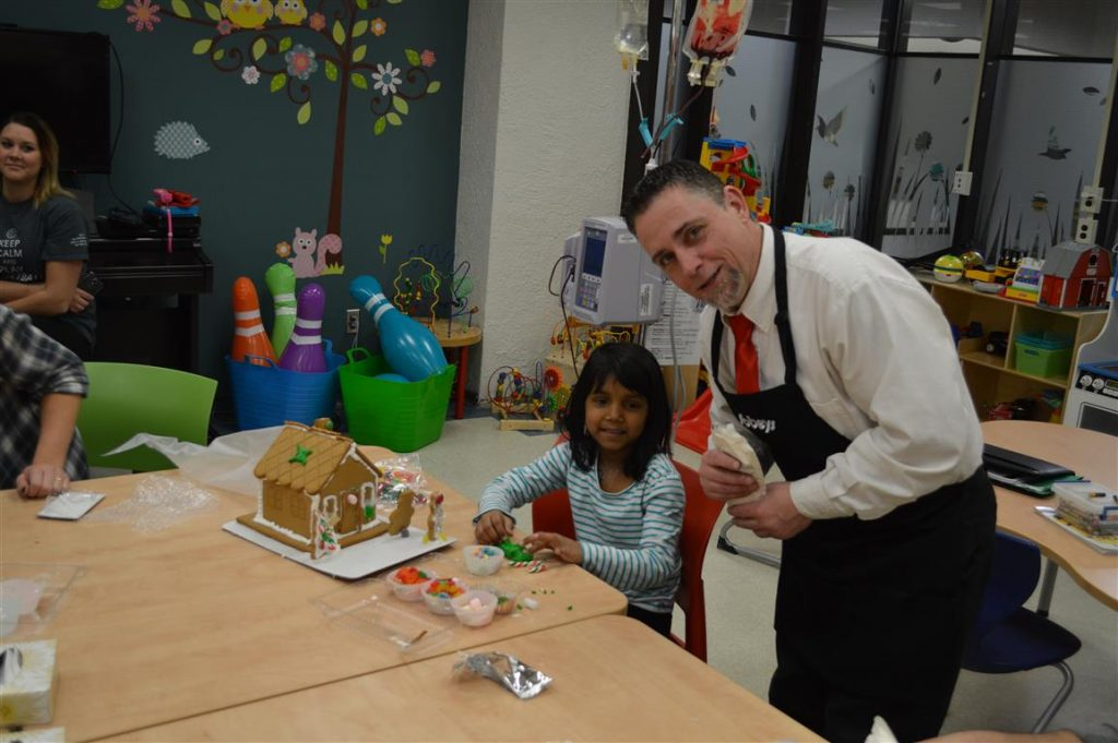 Sobeys Gingerbread House Decorating in Pediatrics
