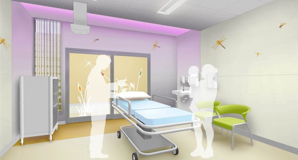 Pediatric Surgery Induction Room