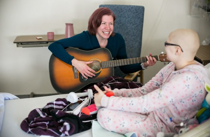 Music Therapist Leanne Hoeft