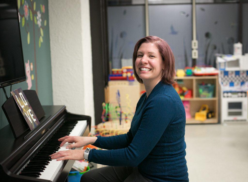 Music Therapist Leanne Hoeft