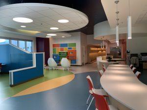 Child Life Zone at Jim Pattison Children's Hospital